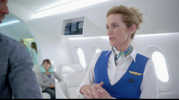 Old Navy TV Spot, 'Airplane Jean Sale' Featuring Julie Hagerty - Thumbnail 8