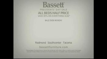Bassett Presidents' Day Sale TV Spot - Thumbnail 5