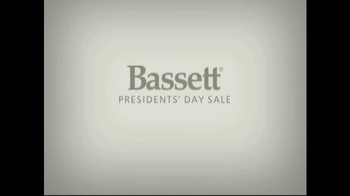 Bassett Presidents' Day Sale TV Spot - Thumbnail 1