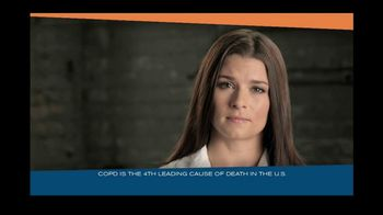 DRIVE4COPD TV Spot Featuring Danica Patrick - 27 commercial airings