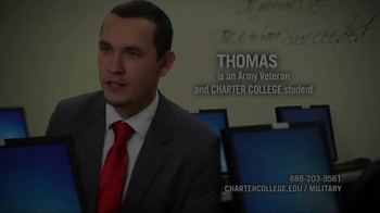 Charter College TV Spot 'Military Grads' - Thumbnail 1