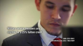 Charter College TV Spot 'Military Grads' - Thumbnail 6