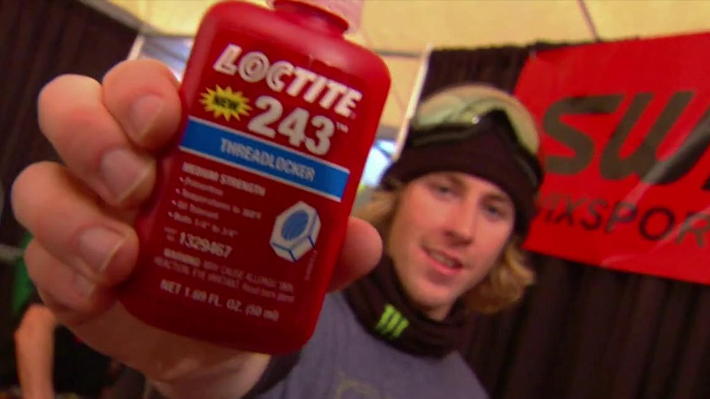 Loctite 243 Threadlocker TV Commercial Featuring Sage Kotsenburg
