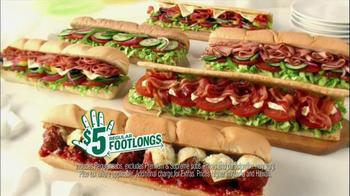 Subway 5 Dollar Footlongs TV Spot, 'Egyptian' - Thumbnail 3