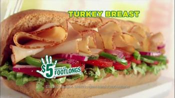 Subway 5 Dollar Footlongs TV Spot, 'Egyptian' - Thumbnail 5