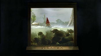 Travelocity TV Spot, 'Swimming with the Piranhas' - Thumbnail 2