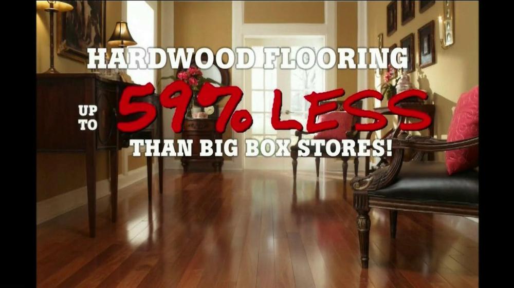 Lumber Liquidators Hardwood Flooring Sale TV Commercial