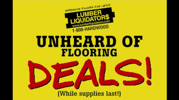 Lumber Liquidators Hardwood Flooring Sale TV Spot  - Thumbnail 6