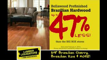 Lumber Liquidators Hardwood Flooring Sale TV Spot  - Thumbnail 2