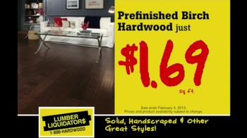 Lumber Liquidators Hardwood Flooring Sale TV Spot  - Thumbnail 3