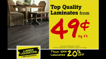 Lumber Liquidators Hardwood Flooring Sale TV Spot  - Thumbnail 4