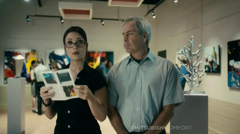 Mitsubishi Electric Comfort TV Spot, 'Musuem' Featuring Fred Couples - Thumbnail 2