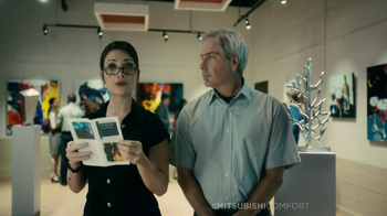 Mitsubishi Electric Comfort TV Spot, 'Musuem' Featuring Fred Couples - Thumbnail 3