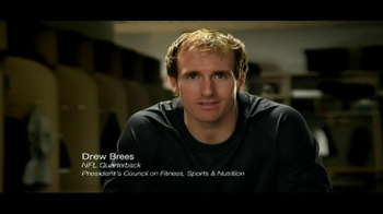 Ad Council TV Spot, 'Get Active' Featuring Drew Brees - Thumbnail 1