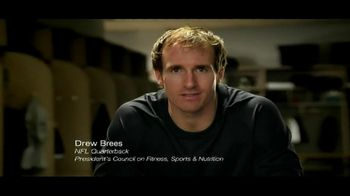 Ad Council TV Spot, 'Get Active' Featuring Drew Brees - 212 commercial airings
