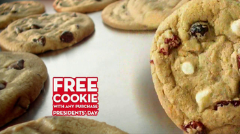 Subway FebruANY TV Spot, 'Free Cookie Day' Feat. Mike Lee, Nastia Liukin - Thumbnail 4