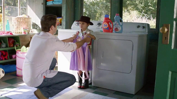 Tide+Downy TV Spot, 'Princess Dress'  - Thumbnail 9