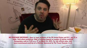 Travel Channel's Trip of a Lifetime TV Spot  - Thumbnail 7