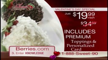 Shari's Berries TV Spot  - 297 commercial airings