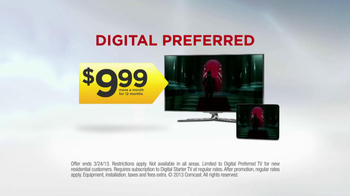 Xfinity Digital Preferred TV Spot, 'Tomorrow Could be Awesome'  - Thumbnail 8