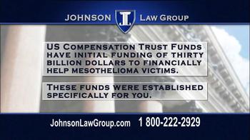 Johnson Law Group TV Spot, 'Mesothelioma' - Thumbnail 6