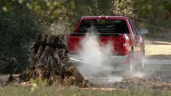 2013 Chevrolet Silverado TV Spot, 'Tree Trunk' - Thumbnail 2