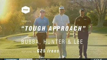 Ping G25 Irons TV Spot, Featuring Bubba Watson, Lee Westwood
