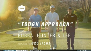 Ping G25 Irons TV Spot, Featuring Bubba Watson, Lee Westwood - 190 commercial airings