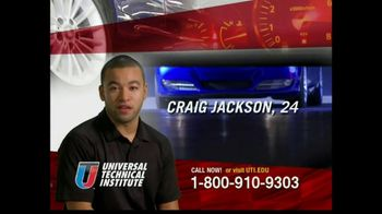 Universal Technical Institute (UTI) TV Spot 'Craig'