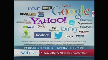 Web.com TV Spot, 'Free' - Thumbnail 6