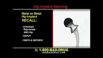 Pulaski & Middleman TV Spot, 'Hip Implant Warning' - Thumbnail 4