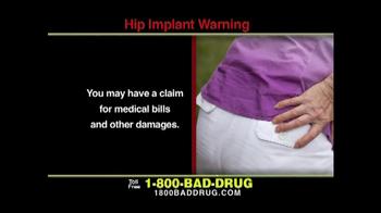 Pulaski & Middleman TV Spot, 'Hip Implant Warning' - Thumbnail 5