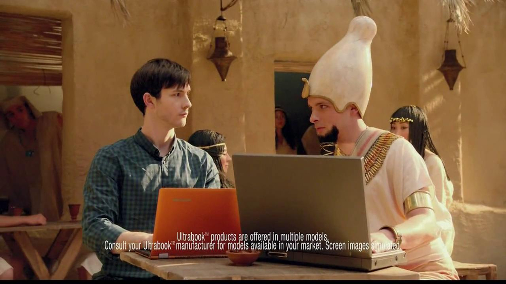 Best Buy TV Commercial, 'Intel Ultrabook Convertible: Ancient Egypt'