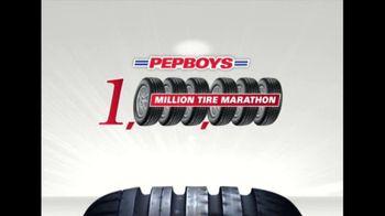 PepBoys Million Tire Marathon TV Spot