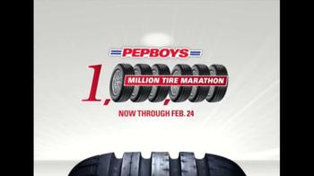 PepBoys Million Tire Marathon TV Spot - Thumbnail 7