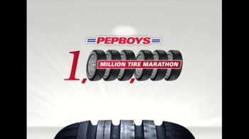 PepBoys Million Tire Marathon TV Spot