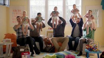 Huggies Little Movers TV Spot 'Daddy Daycare'