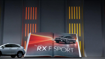 2013 Lexus RX 350 AWD TV Spot, 'Turn the Page' - Thumbnail 9