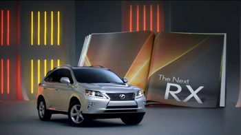 2013 Lexus RX 350 AWD TV Spot, 'Turn the Page' - 914 commercial airings