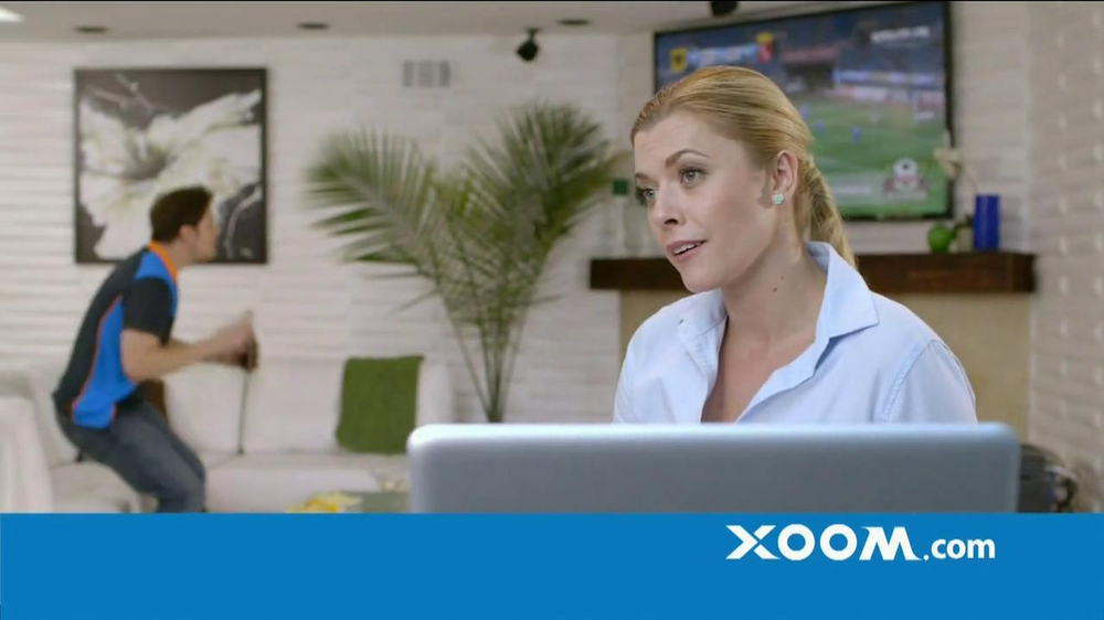 Xoom TV Commercial, 'No Fee from Receiving Bank'