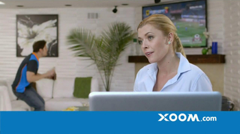 Xoom TV Spot, 'No Fee from Receiving Bank'