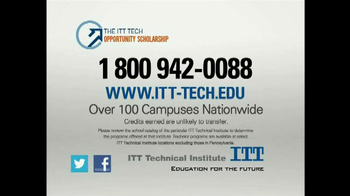 ITT Technical Institute Opportunity Scholarship TV Spot - Thumbnail 9