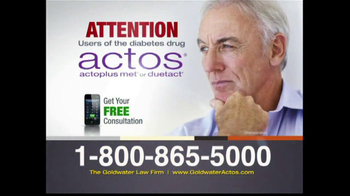 Goldwater Law Firm TV Spot, 'Actos' - Thumbnail 1