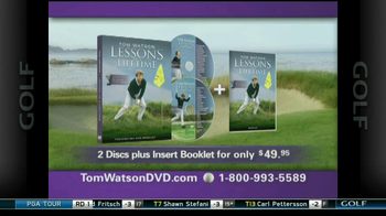 Tom Watson Lessons of a Lifetime DVD TV Spot - Thumbnail 10