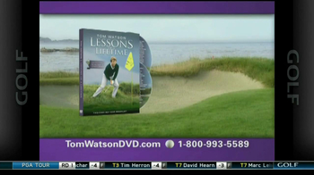 Tom Watson Lessons of a Lifetime DVD TV Spot - Thumbnail 6