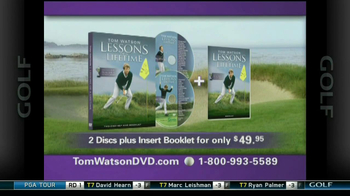Tom Watson Lessons of a Lifetime DVD TV Spot - Thumbnail 7