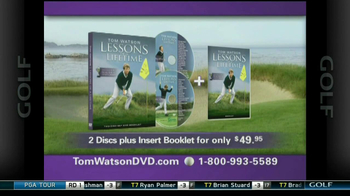 Tom Watson Lessons of a Lifetime DVD TV Spot - Thumbnail 8