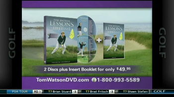 Tom Watson Lessons of a Lifetime DVD TV Spot - Thumbnail 9