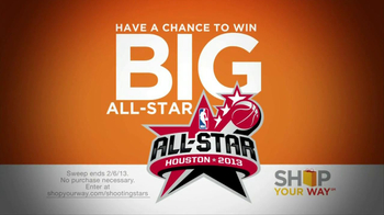 Sears Shop Your Way TV Spot, 'All-Star Houston Sweepstakes' - Thumbnail 2