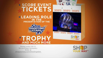 Sears Shop Your Way TV Spot, 'All-Star Houston Sweepstakes' - Thumbnail 3